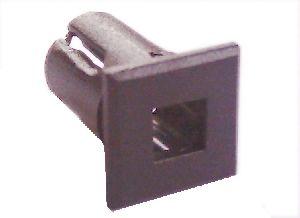 Objímka SL203 pro LED diody @5mm znaková (čtverec)