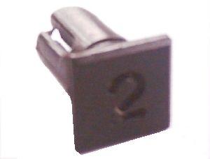 Objímka SL222 pro LED diody @5mm znaková (2)