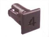 Objímka SL224 pro LED @5mm znak (4)