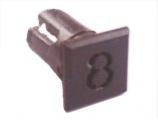 Objímka SL228 pro LED @5mm znak (8)