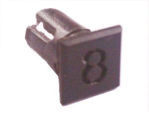 Objímka SL228 pro LED diody @5mm znaková (8)