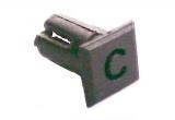 Objímka SL232 pro LED @5mm znak (C)