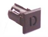 Objímka SL233 pro LED diody @5mm znaková (D)