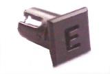 Objímka SL234 pro LED diody @5mm znaková (E)