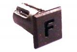Objímka SL235 pro LED diody @5mm znaková (F)