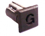 Objímka SL236 pro LED diody @5mm znaková (G)