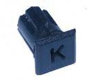 Objímka SL240 pro LED diody @5mm znaková (K)