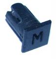 Objímka SL242 pro LED diody @5mm znaková (M)