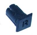 Objímka SL247 pro LED diody @5mm znaková (R)