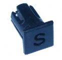 Objímka SL248 pro LED diody @5mm znaková (S)