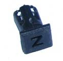 Objímka SL255 pro LED diody @5mm znaková (Z)