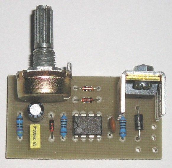 Regulátor stejnosměrných motorků-pulsní, stavebnice max.10A (s přiloženým chladičem do 2A) Vhodný k regulování otáček grilu , navíječek apod.