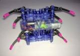 Robotický pavouk - stavebnice - brouk krab - SPIDER ROBOT, napájení baterií 1,5V AA