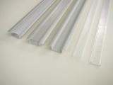 """AL lišta-profil pro LED ve tvaru T """"V5"""" vestavný+plexi barva stříbrná"""
