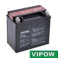 Baterie motocyklová 12V/12Ah Vipow akumulátor