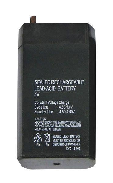 Baterie olověná 4V/ 0,7Ah náhradní olověný akumulátor ke svítilně nabíjecí bezúdržbový