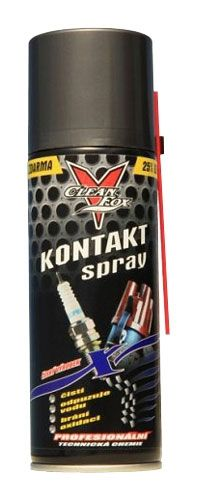 Kontakt spray 200ml čistí a chrání kontakty na nf i vf přístroje