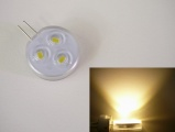 LED žárovka G4,úhel svitu 120°, 2W - Teplá bílá 2800K