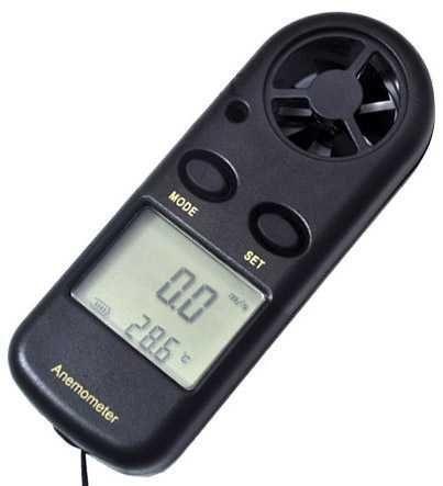Měřič rychlosti větru a teploty Anemometr digitální HM816