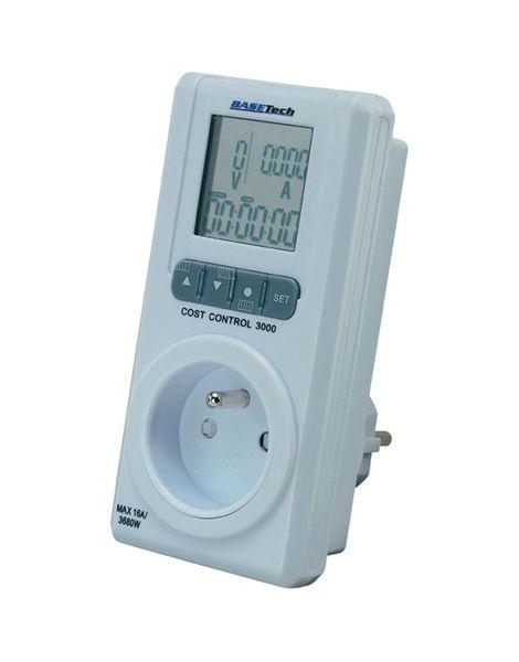 Měřič spotřeby el. energie II, BaseTech Cost Control 3000 CZ, display