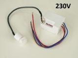 Pohybové čidlo infra mini PIR 230V/Spínaná zátěž max. 800 W - modul