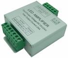 Zesilovač RGBW signálu AMP6, 4-kanálový 12-24V, 4x6A