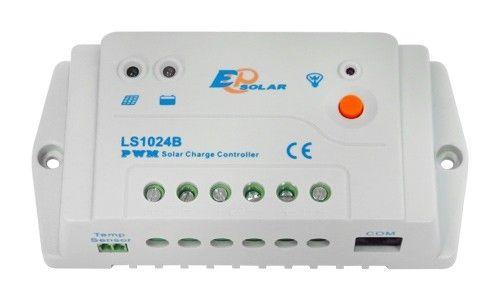 Solární regulátor nabíjení 12V/24V / 10A Epsolar LS1024B řízený na ochranu baterií. 12V/24V s mikroprocesorem pro inteligentní řízení dobíjení
