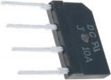 Můstek diodový B1000V10A-P plochý
