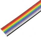 FBK34 kabel plochý barevný