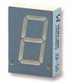 LED 7-mi segmentový displej SA08-11EWA rudá 20mm