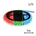 LED pásek RGB 3528 60LED/m IP65 max. 12W/m R-G-B multicolor zalitý, 5m