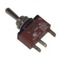 Páčkový spínač 3pol./3pin ON-OFF-(ON) C3921E IP67