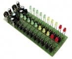 Stavebnice PT024S Audio spectrum analyzer Stereo indikátor vybuzení