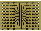 Univerzální vrtaná deska 52x72 UM-3 plošný spoj