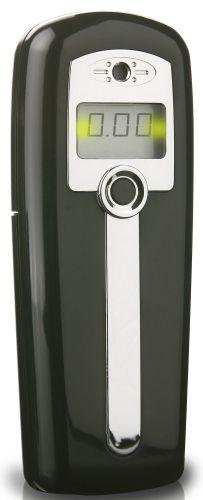 Alkohol Tester V-net AL-2500 black černý, digitální, profi, přesný a kvalitní, možnost kalibrace, s použitím bez náustku, rozsahem měření 0,0 - 4,0 ‰ a napájený 2 x 1,5 V AA baterií. Vhodný pro osobní