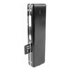 Mikrokamera s SD rekordérem / špionážní minikamera v kovovém pouzdře se záznamem - kamera SPY 5100HR, formát záznamu AVI, 720x480, 30 snímků/s, Audio záznam -se zvukem, microSD karta 2-16GB, integrova
