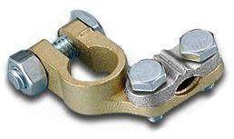 Svorka na autobaterii (-) kontakt mínus, svorkovnice, objímka, baterie