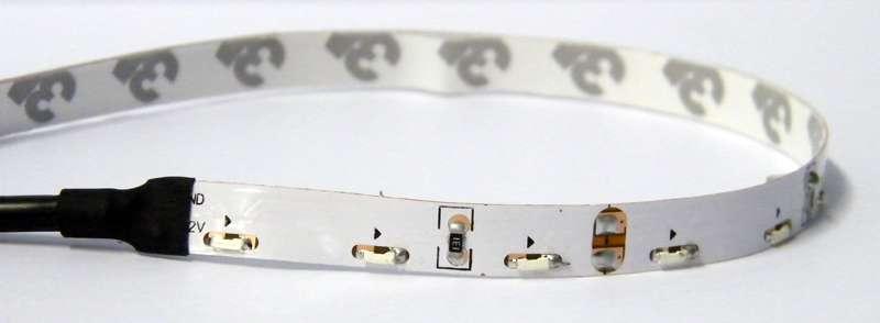 LED pásek 12V 335 (boční) 60LED/m IP65 max. 4.8W/m bílá studená, ohebný, voděodolný IP65, cena za 1m