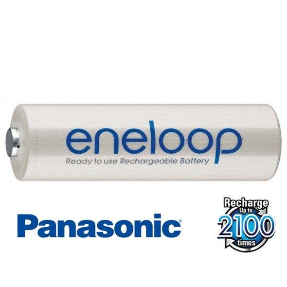Baterie AA (R6) nabíjecí Eneloop PANASONIC BULK, min. kapacita 1900 mAh, akumulátor kvalitní, poctivý, tužkový, MADE IN JAPAN