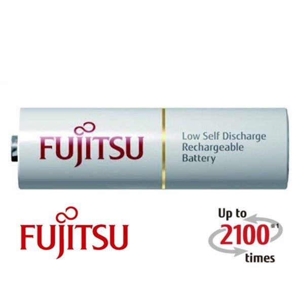 Baterie AA (R6) nabíjecí FUJITSU bulk 2100 cyklů, min. kapacita 1900 mAh, akumulátor kvalitní, poctivý, tužkový, MADE IN JAPAN