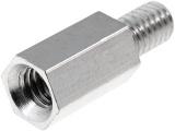 M4x10 distanční sloupek kov, l=10mm vnitřní/vnější závit