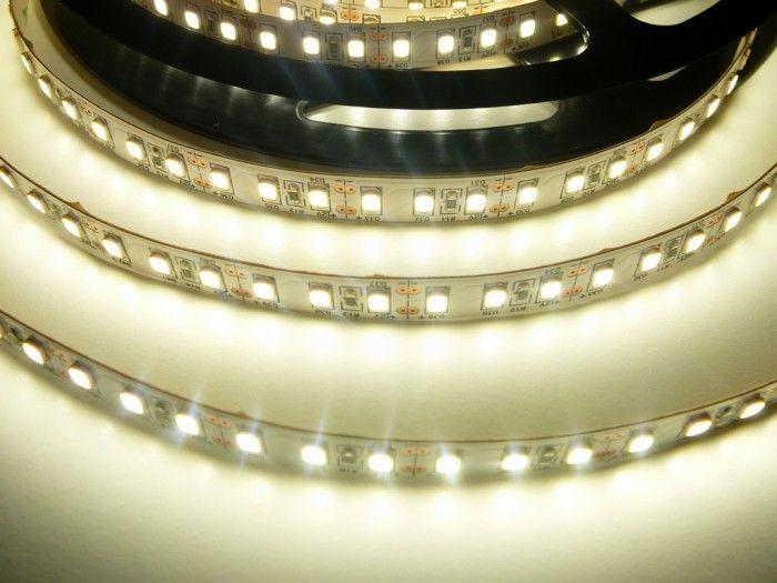 LED pásek vnitřní samolepící 600SB3 120LED/m 12V 20W/m barva denní bílá cena za 1m