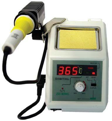 Mikropájka ZD-929C stolní pájecí stanice s regulací teploty 160-480°C, 48W