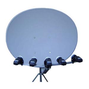 Parabola maximum E-85 multifocus, toroidní, více družic až 5 družic