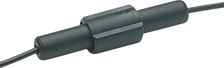 Pojistkové pouzdro držák trubičkové 5x20mm nebo 6.3x32mm UNIVERZAL trubičkové, montáž na kabel, Max. proud 6.3A