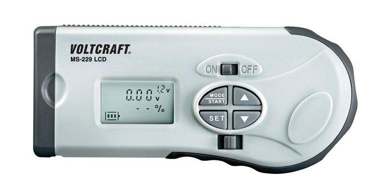 Tester baterií MS-229 LCD, zkoušečka