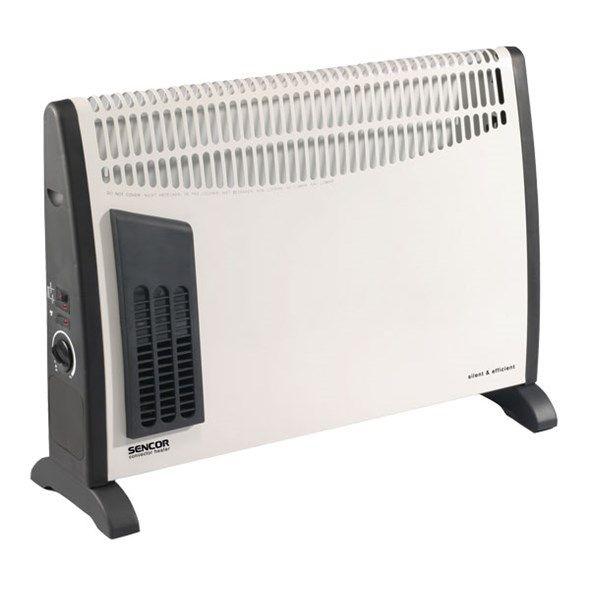 Ventilátor teplovzdušný, přímotop panelový - konvektor teplovzdušný SENCOR SCF 2001 topení, 750/1250/2000 W
