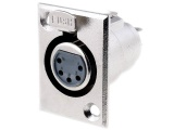 XLR 5ZP 5-pin zásuvka na panel