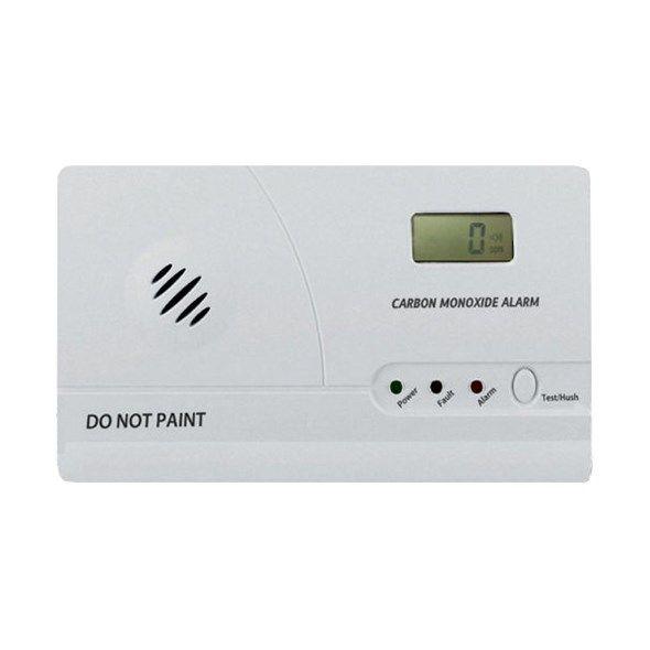 Detektor oxidu uhelnatého s alarmem hlásič CO ALARM CO-86, k zjištění, měření úniku plynu