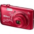 NIKON COOLPIX A300 Red digitální fotoaparát